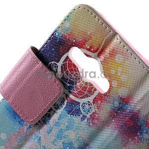 Vzorové peněženkové pouzdro na Samsung Galaxy Xcover 3 - snění - 5