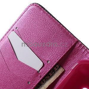 Vzorové peněženkové pouzdro na Samsung Galaxy Xcover 3 - srdce - 5