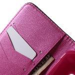 Vzorové peněženkové pouzdro na Samsung Galaxy Xcover 3 - srdce - 5/7