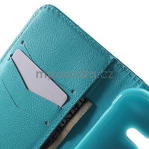 Vzorové peněženkové pouzdro na Samsung Galaxy Xcover 3 - vodní květ - 5