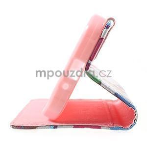 Stylové peněženkové pouzdro pro Samsung Galaxy Xcover 3 - sovičky - 5