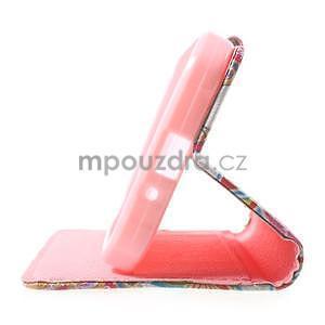 Stylové peněženkové pouzdro pro Samsung Galaxy Xcover 3 - mandala - 5