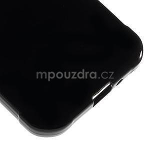 Lesklý gelový kryt na Samsung Galaxy Xcover 3 - černý - 5