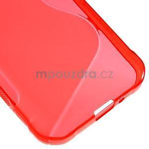 S-line gelový obal na Samsung Galaxy Xcover 3 - červený - 5