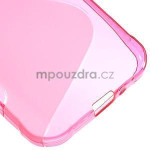S-line gelový obal na Samsung Galaxy Xcover 3 - růžový - 5
