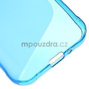 S-line gelový obal na Samsung Galaxy Xcover 3 - modrý - 5