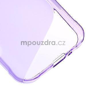 S-line gelový obal na Samsung Galaxy Xcover 3 - fialový - 5