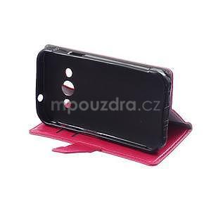 Rose koženkové pouzdro Samsung Galaxy Xcover 3 - 5