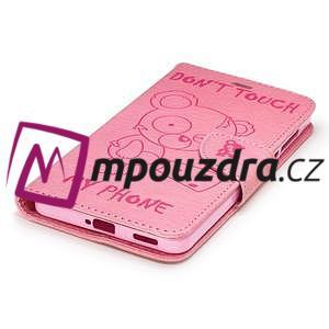 BadBeer peněženkové pouzdro na Nokia 6 - růžové - 5