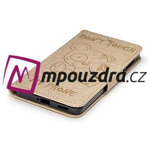 BadBeer peněženkové pouzdro na Nokia 6 - champagne - 5