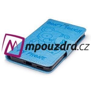 BadBeer peněženkové pouzdro na Nokia 6 - světlemodré - 5