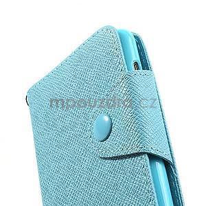 Peněženkové pouzdro na Nokia Lumia 625 - světle modré - 5
