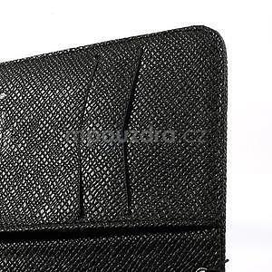 Peněženkové pouzdro na Nokia Lumia 625 - černé - 5