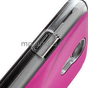 Metalický obal na Samsung Galaxy S4 mini - rose - 5
