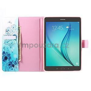 Ochranné pouzdro na Samsung Galaxy Tab A 9.7 - modré pampelišky - 5