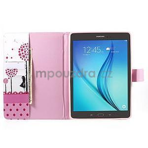 Ochranné pouzdro na Samsung Galaxy Tab A 9.7 - dívka a pampelišky - 5