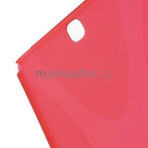 X-line gelový obal na tablet Samsung Galaxy Tab A 9.7 - červený - 5