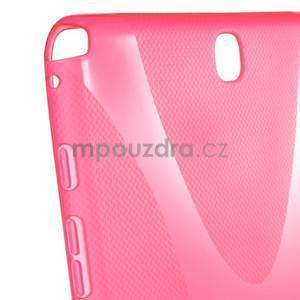 X-line gelový obal na tablet Samsung Galaxy Tab A 9.7 - rose - 5