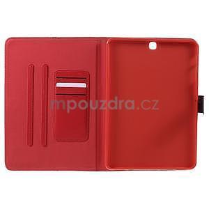 Flatense stylové pouzdro pro Samsung Galaxy Tab S2 9.7 - červené - 5