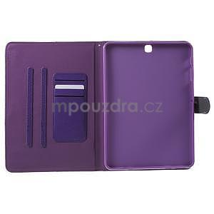 Flatense stylové pouzdro pro Samsung Galaxy Tab S2 9.7 - fialové - 5