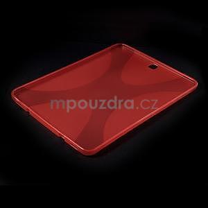 X-line gelový kryt na Samsung Galaxy Tab S2 9.7 - červený - 5