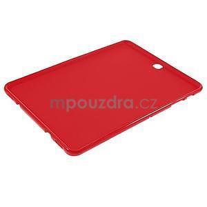 Glossy gelový obal na Samsung Galaxy Tab S2 9.7 - červený - 5