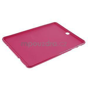 Glossy gelový obal na Samsung Galaxy Tab S2 9.7 - rose - 5