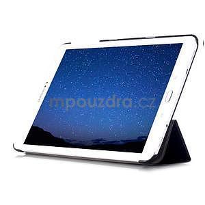 Trifold polohovatelné pouzdro na Samsung Galaxy Tab S2 9.7 - černé - 5