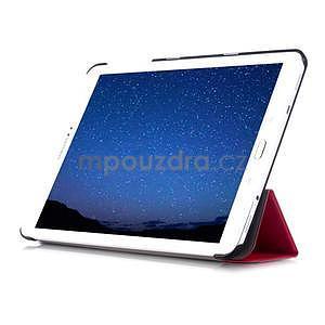 Trifold polohovatelné pouzdro na Samsung Galaxy Tab S2 9.7 - rose - 5