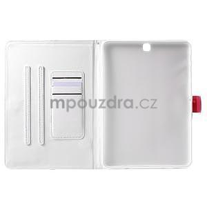 Flatense stylové pouzdro pro Samsung Galaxy Tab S2 9.7 - bílé - 5