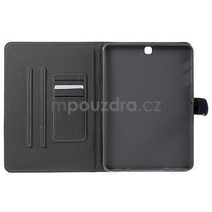 Flatense stylové pouzdro pro Samsung Galaxy Tab S2 9.7 - šedé - 5