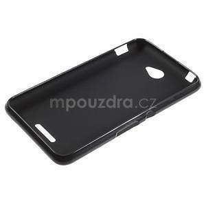 Gelový jednobarevný obal pro Sony Xperia E4 - černý - 5
