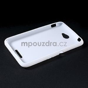 Gelový x-line obal na Sony Xperia E4 - bílý - 5