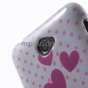 Gelový obal Sony Xperia E4 - zamilované sovičky - 5