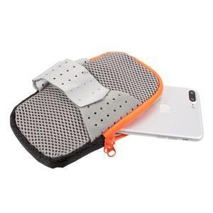Zippy univerzální sportovní taštička na ruku pro telefony do rozměru 157 x 77 mm - černá - 5