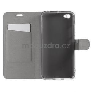 Horse PU kožené pouzdro na Xiaomi Redmi Note 5A - černé - 5