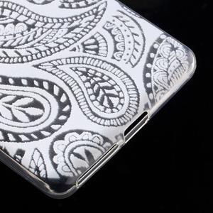 Ultratenký gelový obal na Sony Xperia E5 - krajky II - 5