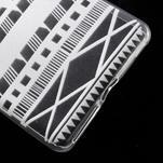 Ultratenký gelový obal na Sony Xperia E5 - geo tvary - 5/5