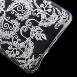 Ultratenký gelový obal na Sony Xperia E5 - krajky IV - 5/6