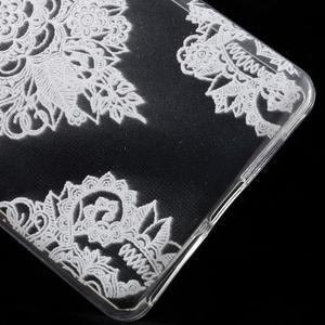 Ultratenký gelový obal na Sony Xperia E5 - krajky V - 5