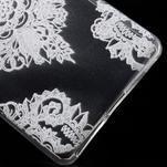 Ultratenký gelový obal na Sony Xperia E5 - krajky V - 5/5