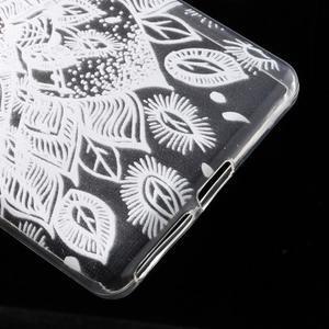 Ultratenký gelový obal na Sony Xperia E5 - lístky - 5
