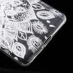 Ultratenký gelový obal na Sony Xperia E5 - lístky - 5/6