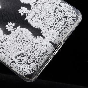 Ultratenký gelový obal na Sony Xperia E5 - krajky III - 5