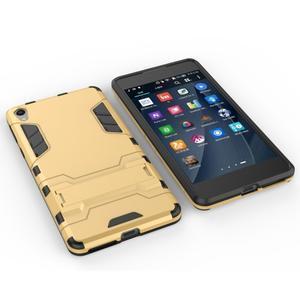 Outdoor odolný obal na mobil Sony Xperia E5 - zlatý - 5