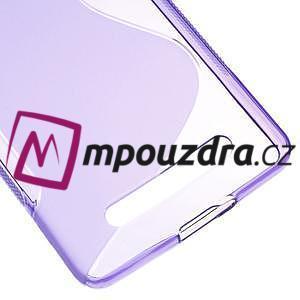 S-line gelový obal na mobil Xiaomi Mi4c/Mi4i - fialový - 5