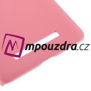 Pogumovaný plastový obal na Xiaomi Mi4c/Mi4i - růžový - 5