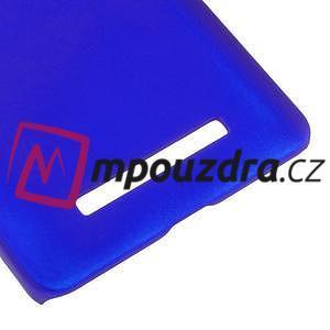 Pogumovaný plastový obal na Xiaomi Mi4c/Mi4i - modrý - 5