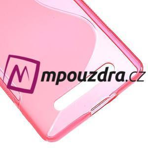 S-line gelový obal na mobil Xiaomi Mi4c/Mi4i - rose - 5