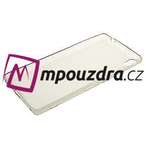 Ultratenký gelový obal na mobil Sony Xperia XA Ultra - šedý - 5